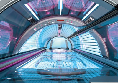 Suntana i S:t Eriksplan har fått ett till Ergoline Prestige 1400 solarium - totalt 3!