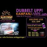 Julkampanj - få Dubbelt-Upp & sola solarium billigt runtom i Stockholm!