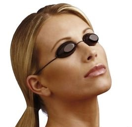 solarium utan ögonskydd