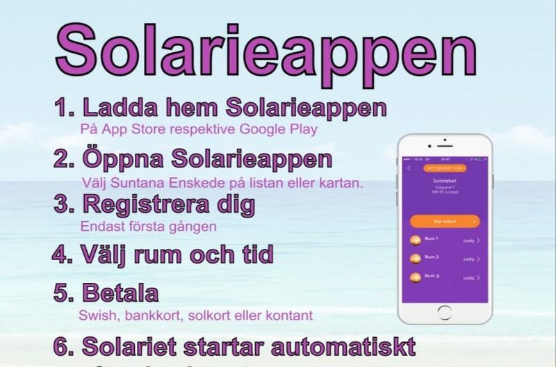 Suntana Drop-In solarium Enskede - Solarieappen