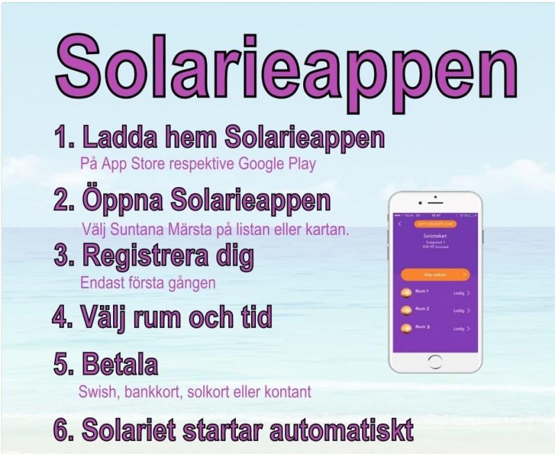Suntana Drop-In solarium Märsta Brunos Solarium - Solarieappen